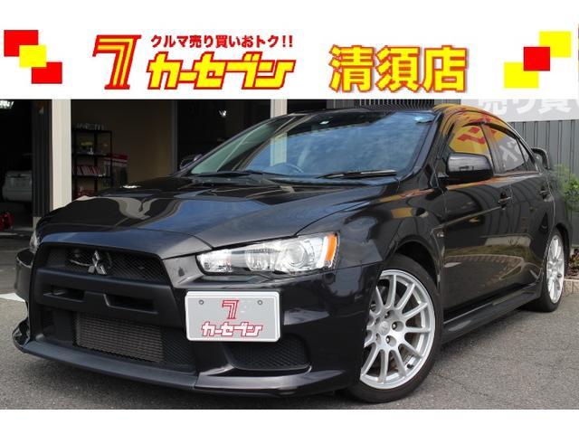 三菱 GSRエボリューションX ローダウン 社外マフラー 禁煙車