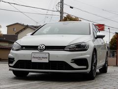 VW ゴルフRワンオーナー 禁煙 OZ18AW×新品タイヤ