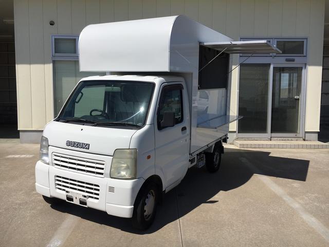 スズキ KCエアコン・パワステ 移動販売車 キッチンカー