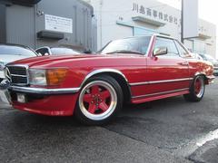 M・ベンツ450SL AMG仕様 ウェスタン物 ディーラー車 赤革