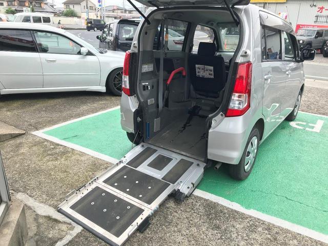 スズキ FX 福祉車両 車いす移動車 スローパー 4AT 車検整備付