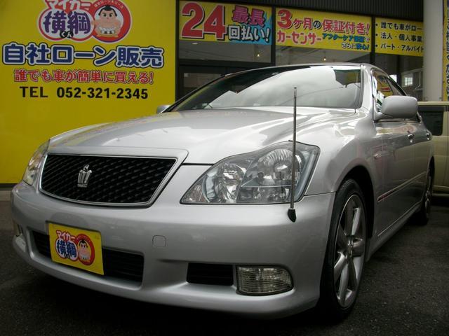 トヨタ アスリート サンルーフ Pシート ナビ TV Bカメラ