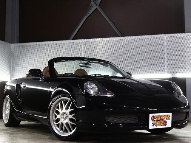 トヨタ Vエディション オープンカー/TEIN車高調/革シート