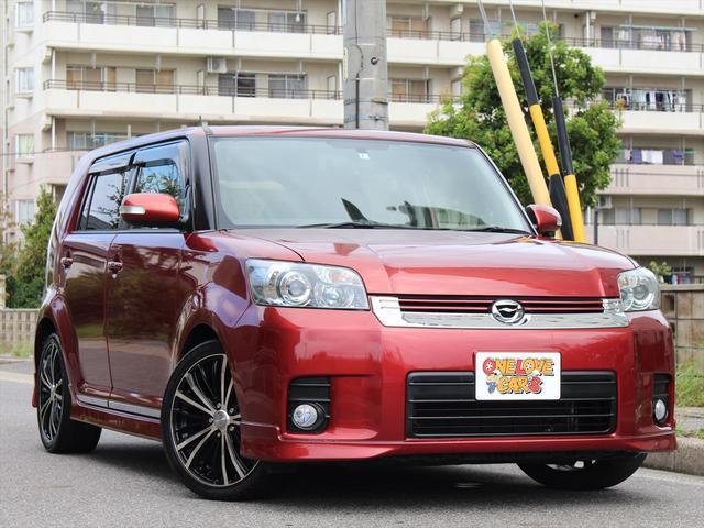 トヨタ 1.5G エアロツアラー18inアルミ/ナビ/テレビ/ETC