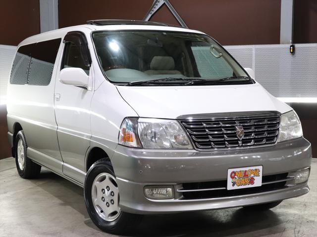 トヨタ グランドハイエース G Xエディション電動リアカーテン動作確認済/ETC