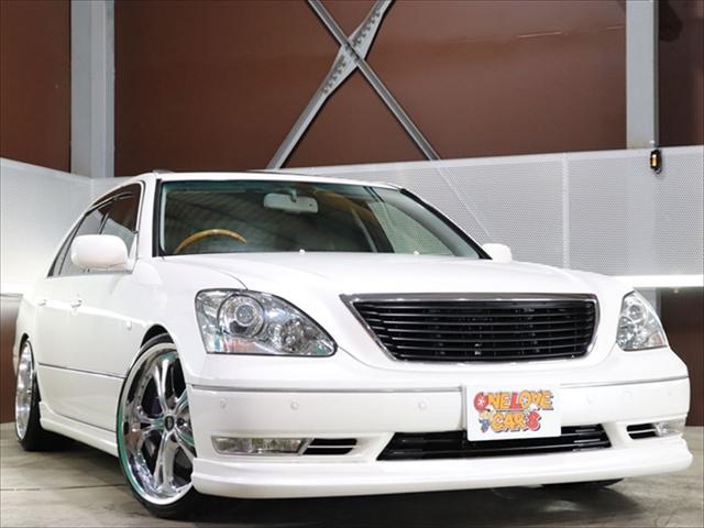 トヨタ セルシオ eR仕様 黒革/車高調/20inホイル/フルエアロ