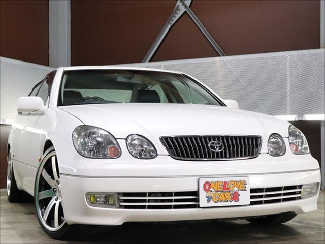 トヨタ アリスト V300ベルテックスエディション 黒革/車高調/アルミ