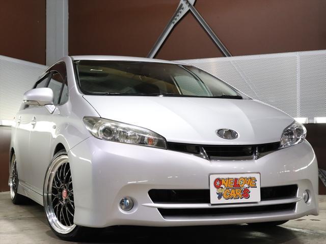 トヨタ 1.8S 社外19inアルミ/車高調/ナビ/TV