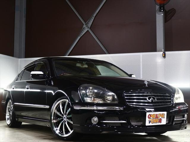 日産 450XL 全塗装済/エアロ/車高調/シートカバー