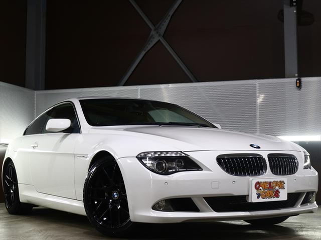 BMW 630i 新品19アルミ/新品タイヤ/ローダウン