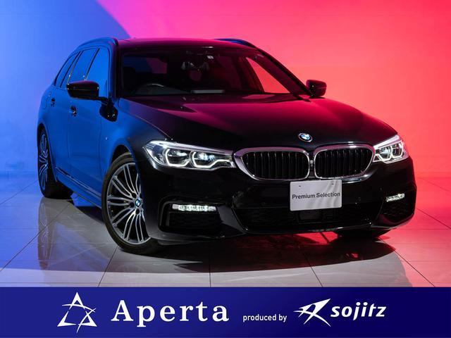 BMW 523dツーリング Mスポーツ ディーゼルターボ リアスモーク施行済 アクティブクルーズコントロール 正規ディーラー車 純正ナビ 安心保証付