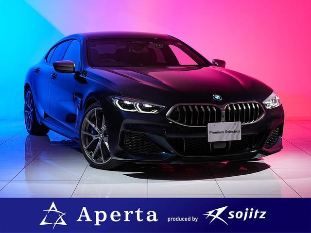 BMW M850i xDrive グランクーペ 電動パノラマルーフ ヘッドアップディスプレイ 前後シートヒーター ハーマンカードンオーディオ 純正ナビ TV視聴可能 360度カメラ 純正20インチアルミ ディスプレイキー付属 ワンオーナー 保証付