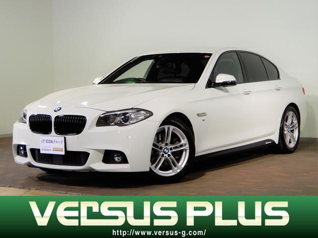 BMW 523d Mスポーツ 純正HDDナビ フルセグTV CD&DVD再生 ミュージックサーバー バックカメラ ETC車載器 黒革シート シートヒーター パワーシート インテリジェントセーフティ アクティブクルーズ スマートキー