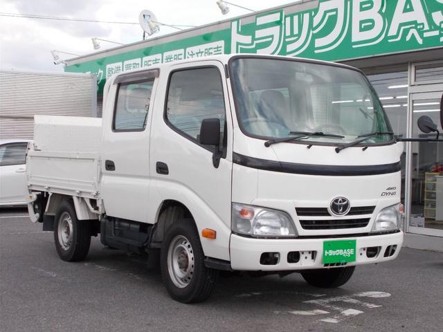 トヨタ 4WDWキャブ3方開平ボディパワーゲート