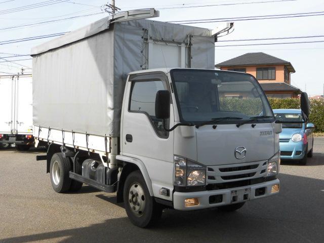 マツダ 幌・カーテン車・3方開・2トン積・Wエアバック・電格ミラー