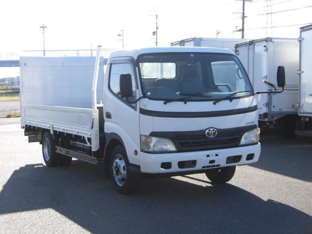 トヨタ ダイナトラック  ワイドロング平ボディ3.5トン積オートターンPG付