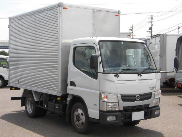 日産  2トン積アルミバン・ETC・バックモニター付