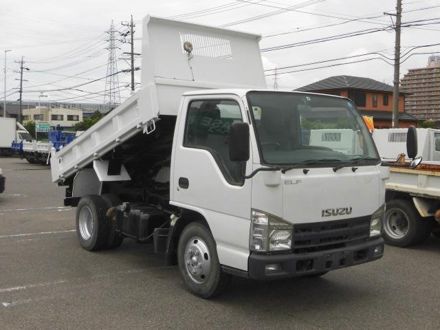 いすゞ エルフトラック 2トン積極東ダンプ2ペダルスムーサーAT車コボレーン付