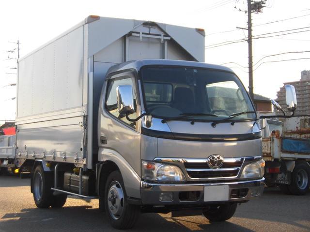 トヨタ  ハイキャブセミロングウィング車3トン積・バックアイモニター付