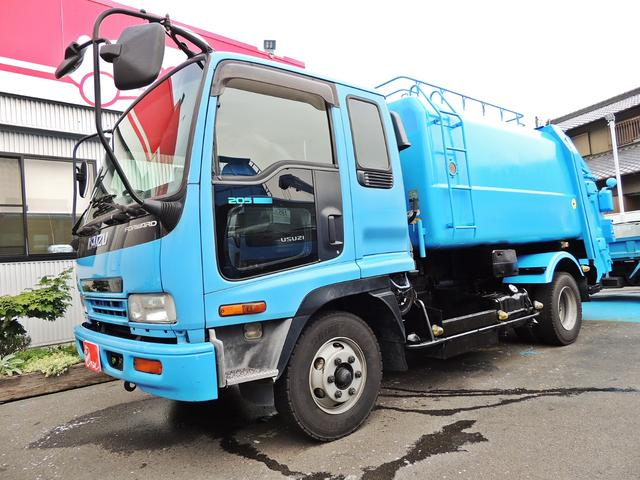いすゞ 塵芥車 8.0立米 回転式
