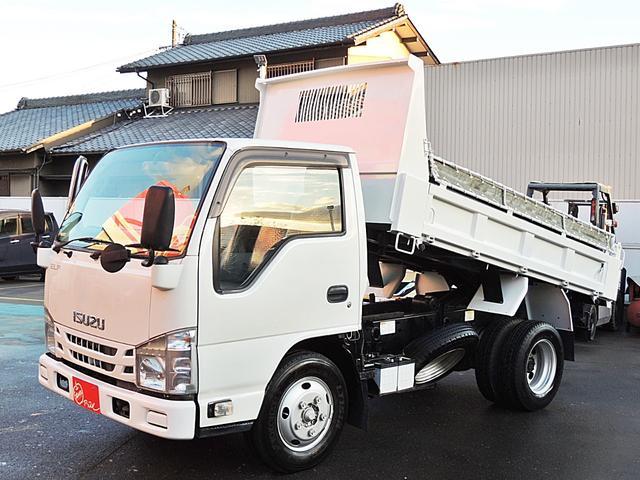 いすゞ エルフトラック 強化ダンプ 高床2t キーレス