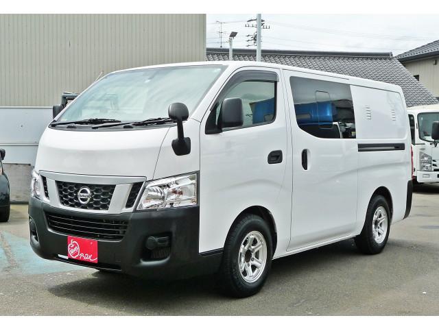 日産  冷凍冷蔵車 +10℃〜+30℃設定 3/6人乗り 東光冷熱エンジニアリング製 (CS-223A) 8ナンバー車