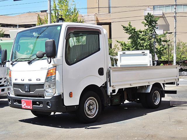 三菱ふそう  平ボディ 1.5t 3方開 チルトキャビン 車両総重量3535kg オートマ車