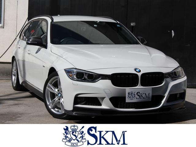 BMW 320d Mスポーツ カーボンフロントリップ ナビ 地デジTV サイドミラー 電動リアゲート パワーシート ミラー一体型ETC バックカメラ HIDヘッドライト バックカメラ プッシュスタート