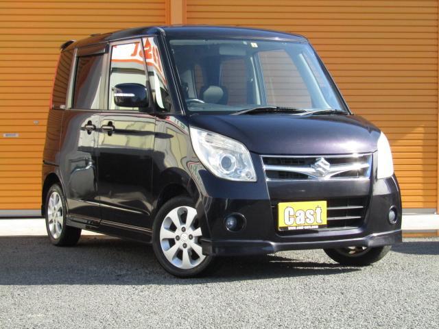 スズキ T 4WD/ターボ/保証付/W電動ドア/HID/ETC/キーフリー/オートAC/プッシュST/ベンチシート/純正フルエアロ/純正14AW/オートライト/PVガラス/ウインカーミラー/電動格納ミラー