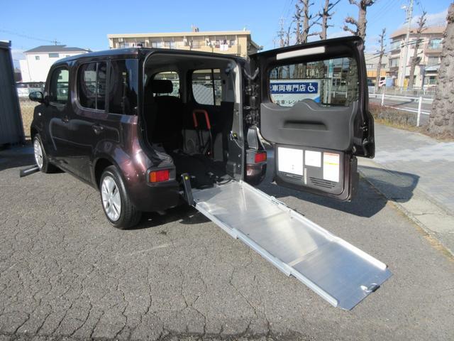 日産  チェアキャブ スローパー 車いす移動車