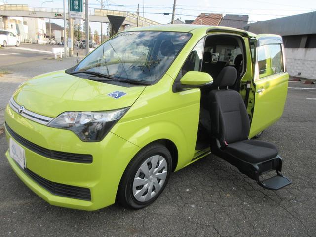 トヨタ スペイド F 助手席電動リフトアップシート Aタイプ