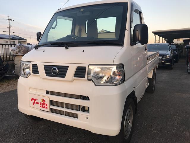 日産 クリッパートラック DX 5速マニュアル 軽トラック ホワイト 最大積載350kg 2人乗り