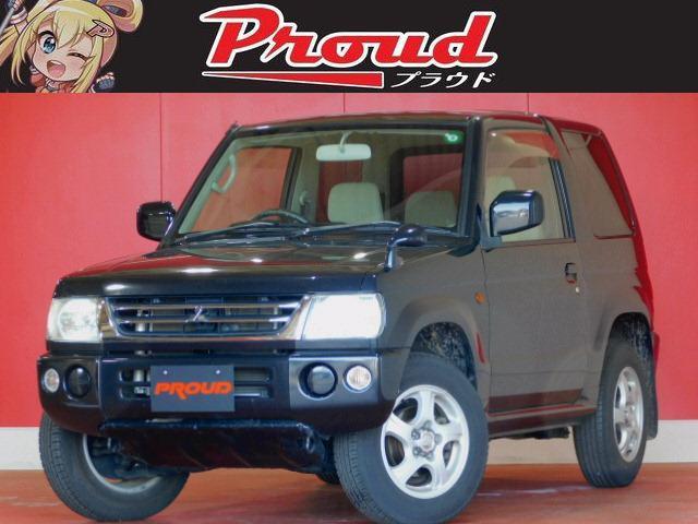 三菱 パジェロミニ XR 1年保証付 禁煙 4WD 社外アルミ オーディオ 電格ミラー 修復歴無