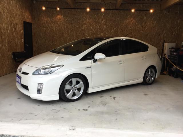 トヨタ G LEDエディション サンルーフ レザーシート ローダウン