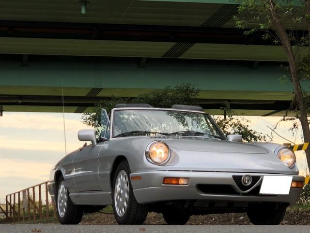 アルファロメオ ヴェローチェ ユーザー買取車 AT 黒革内装 純正オーディオ