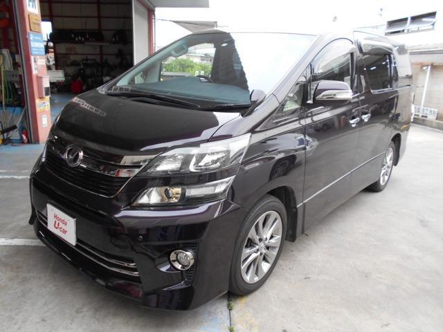 トヨタ 2.4Z ゴールデンアイズ 4WD ナビゲーション