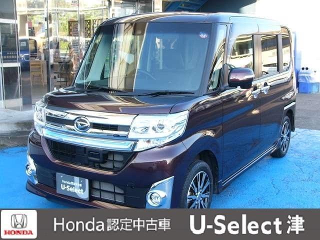 ダイハツ タント カスタムX トップエディションSAII 4WD ナビ/TV