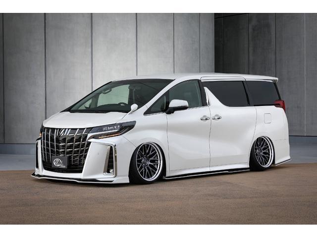トヨタ アルファード 新車コンプリート-KUHLエアロ車高調20インチ