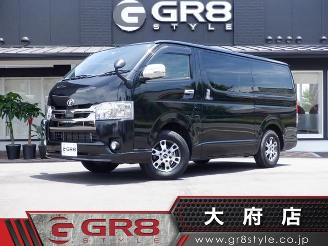 トヨタ スーパーGL DプライムII 両側電動ドア TRDアルミ