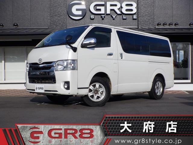 トヨタ ロングスーパーGL タイミングベルト交換済み/Wエアバック/AC100V/スマートキー・PUSHスタート/Bluetooth/SDナビ・フルセグTV/バックカメラ/オートライト・フォグランプ