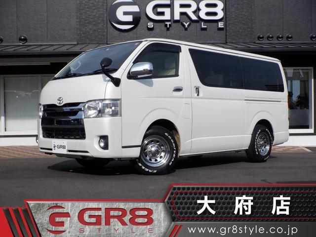 トヨタ ロングスーパーGL 1オーナー/デイトナホイール/スマートキー&エンジンプッシュスタート/BIGX8inSD地デジナビ/バックモニター/ビルトインETC/レザー調シートカバー/オートライト/Bluetooth