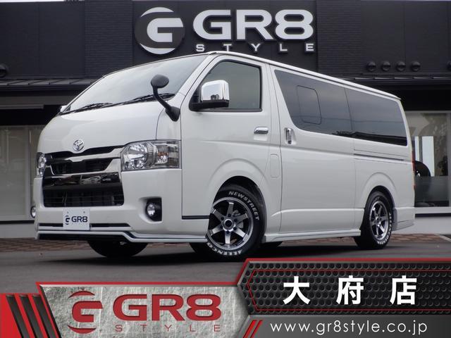 トヨタ スーパーGL ダークプライムII GR8コンプリート/SD地デジナビ/ETC/パノラミックビューモニター/デジタルインナーミラー/Wエアバック/AC100V/スマートキー/ハーフレザーシート/LEDヘッドライト