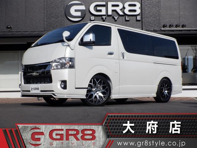 トヨタ スーパーGL ダークプライムII 新車未登録/GR8コンプリート/セーフティセンス/バックモニター/スマートキー/LEDヘッドライト/Wエアバック/AC100V電源/ハーフレザーシート/木目調インテリア/内装ブラック