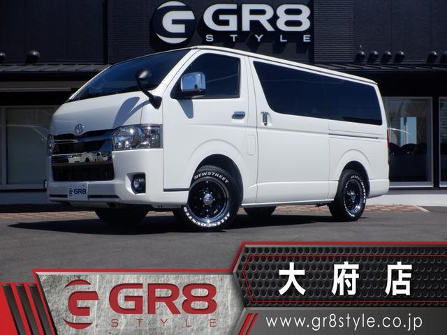 トヨタ スーパーGL ダークプライムII GR8インテリアパッケージplus/セーフティーセンス/パノラミックビューモニター/デジタルインナーミラー/両側パワスラ/スマートキー/ハーフレザーシート/LEDヘッドライト