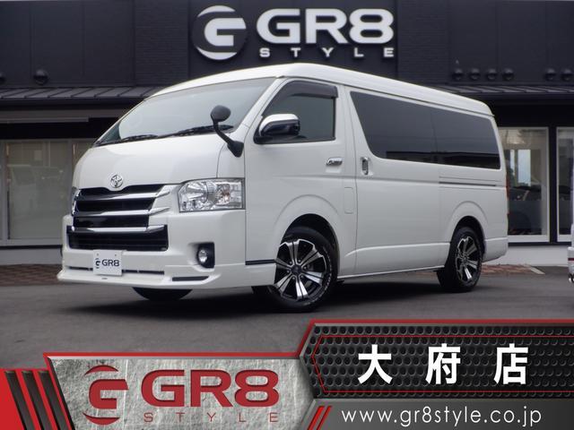 トヨタ GL モデリスタフロントスポイラー/社外17inアルミ/SD地デジナビ/Bカメラ/ETC/フリップダウンモニター/TRDフロントグリル/レザー調シートカバー/スマートキー/LEDヘッドライト/