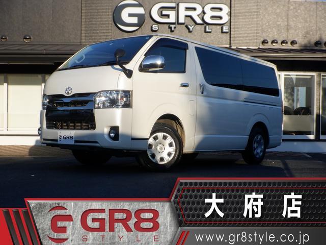 トヨタ スーパーGL ダークプライム SD地デジナビ/カラーバックモニター/ETC/スマートキー&エンジンプッシュスタート/LEDヘッドライト/ハーフレザーシート/4WD/サイドバイザー/ディーゼルターボ/ブラックメッキ