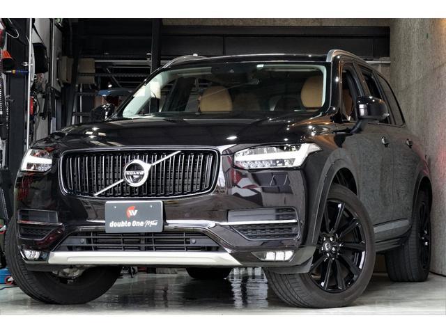 ボルボ XC90 T6 AWD インスクリプション ワンオーナー シートマッサージ 360°カメラ ヘッドアップディスプレイ 地デジ 7人乗り パワートランク スペアキー