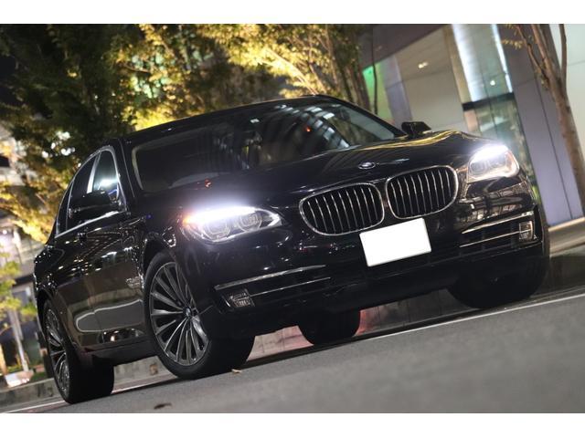 BMW 740i /後期型/LEDヘッドライト/コンフォートPKG/19インチアロイホイール/スマートキー/スペアーキー/車検長/ヘッドアップディスプレイ/地デジ/テレビキャンセラー/ブラウンレザーインテリア