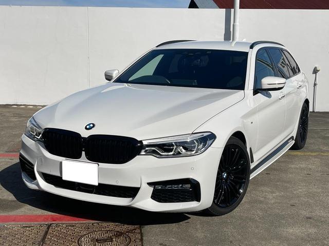 BMW 523iツーリング Mスポーツ ETC 前方位カメラ 衝突被害軽減ブレーキ 純正HDDナビ 純正19インチアルミ LEDヘッドライト