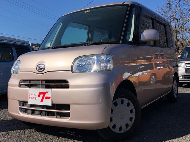 ダイハツ X 車検整備付 タイミングチェーン キーフリー スマートキー 左側スライドドア オートエアコン DVD ETC ナビ ABS ベンチシート
